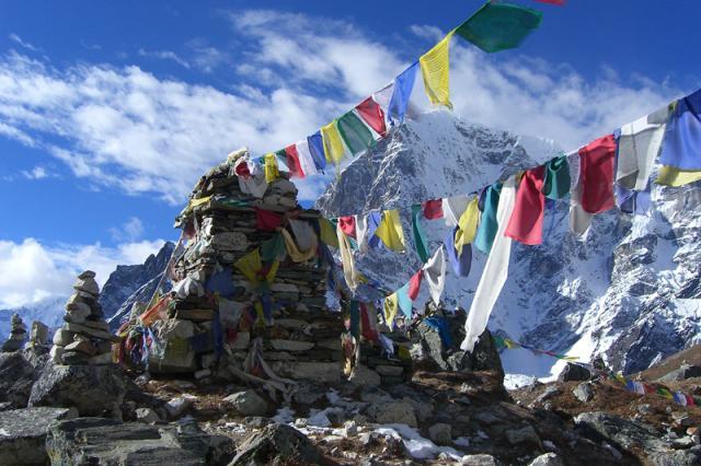 Buddhista imazászlók (Tibet)