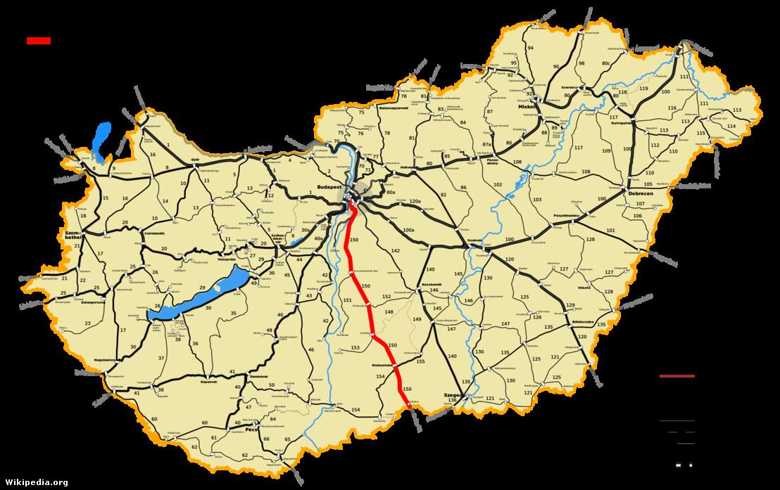 magyarország vasúti térképe