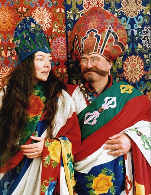 Ngak'csang Rinpócse és Kandro Décsen