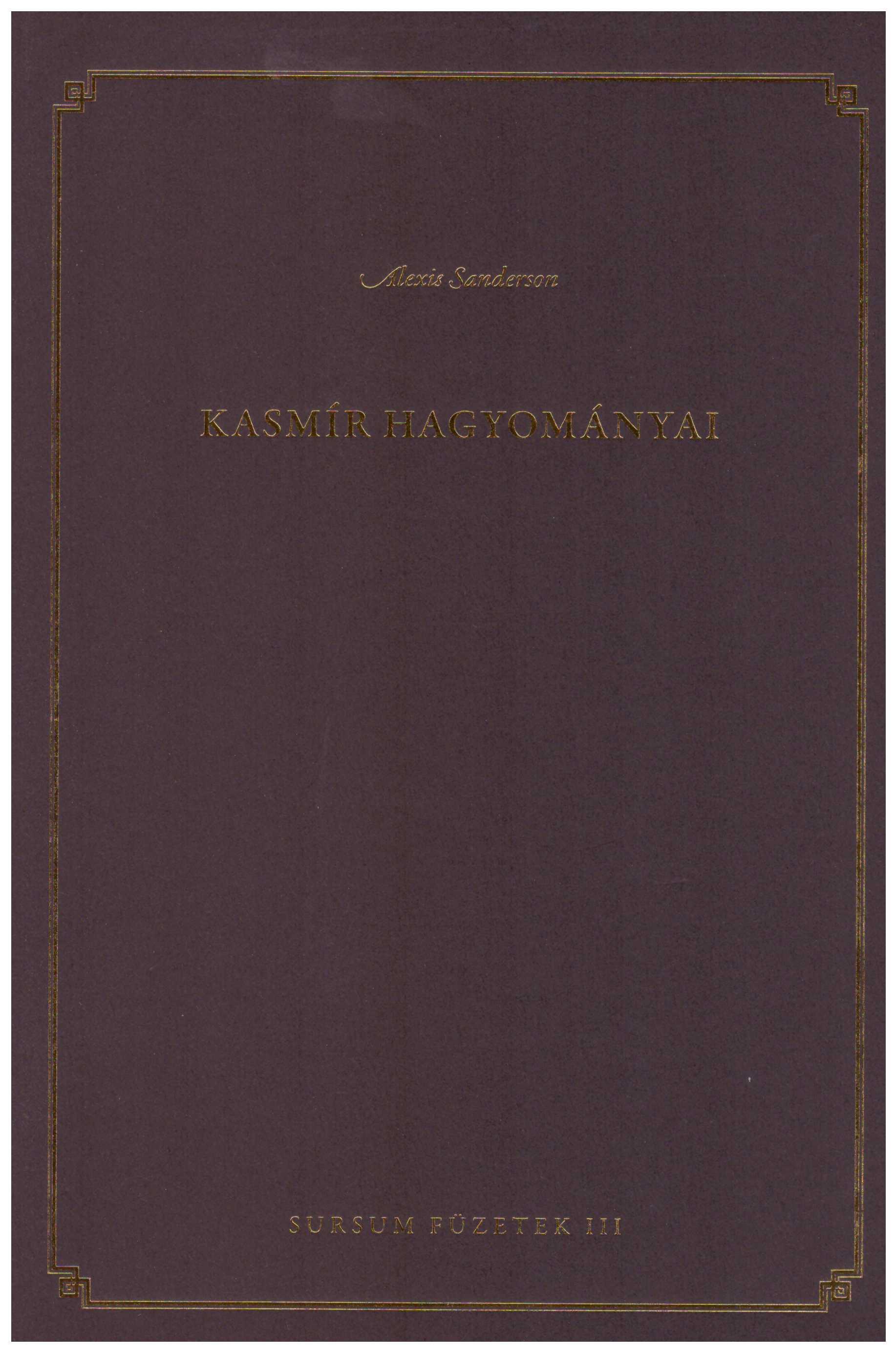 Kashmír hagyományai